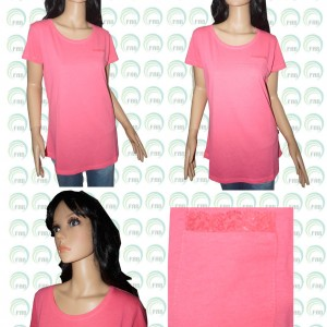 Ladies pocket t shirt