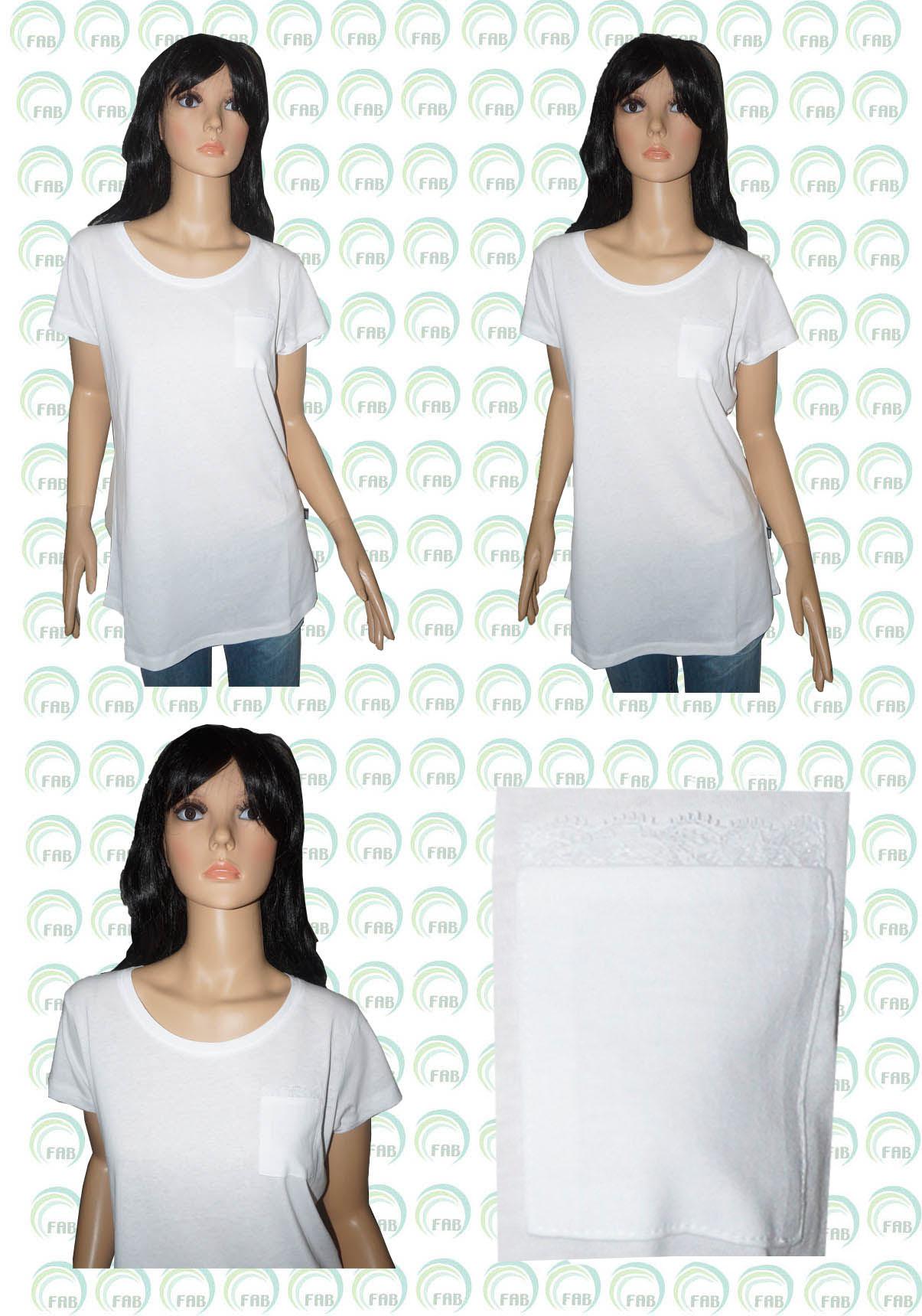 ladies pocket  t shirt 0002