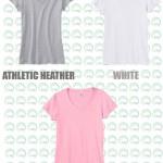 V-neck t-shirt 02