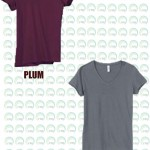 V-neck t-shirt 05